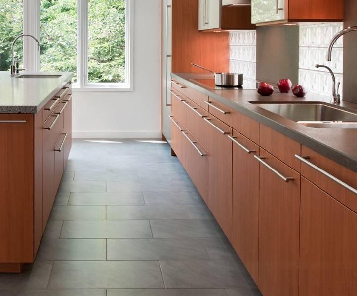 Какой пол выбрать на кухню: кафель, ламинат, линолеум, паркет