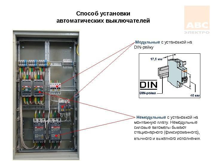 Выбор и монтаж электросчетчика, автоматов защиты и узо