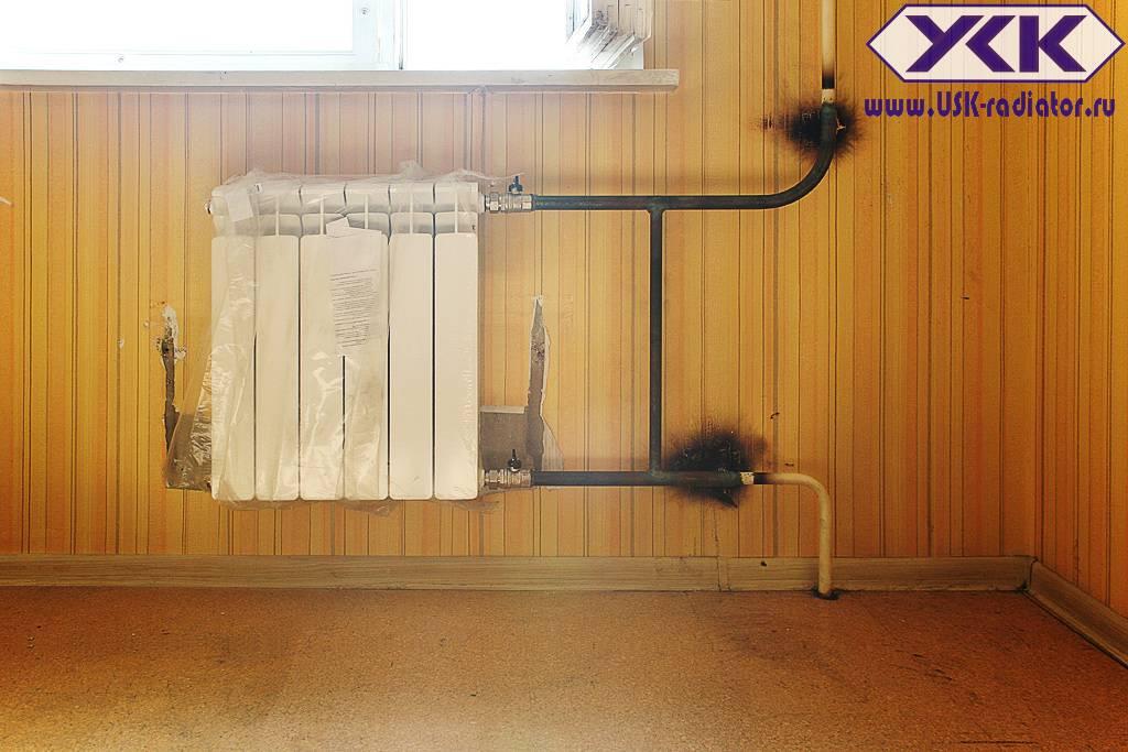 Монтаж радиаторов отопления своими руками: в доме или квартире, схемы обвязки