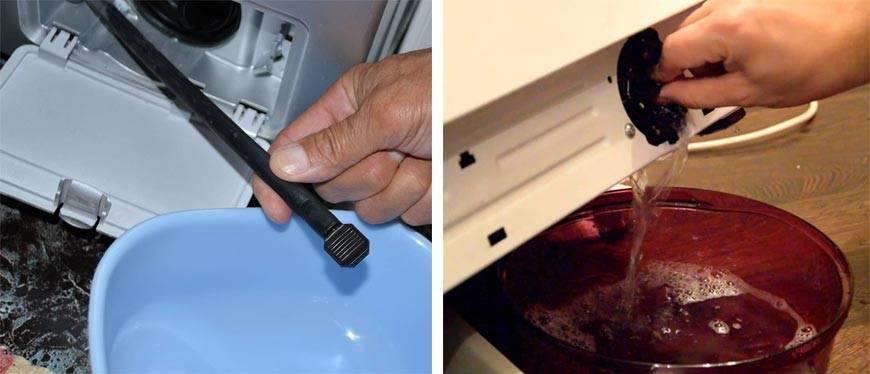Как слить воду из стиральной машины самостоятельно