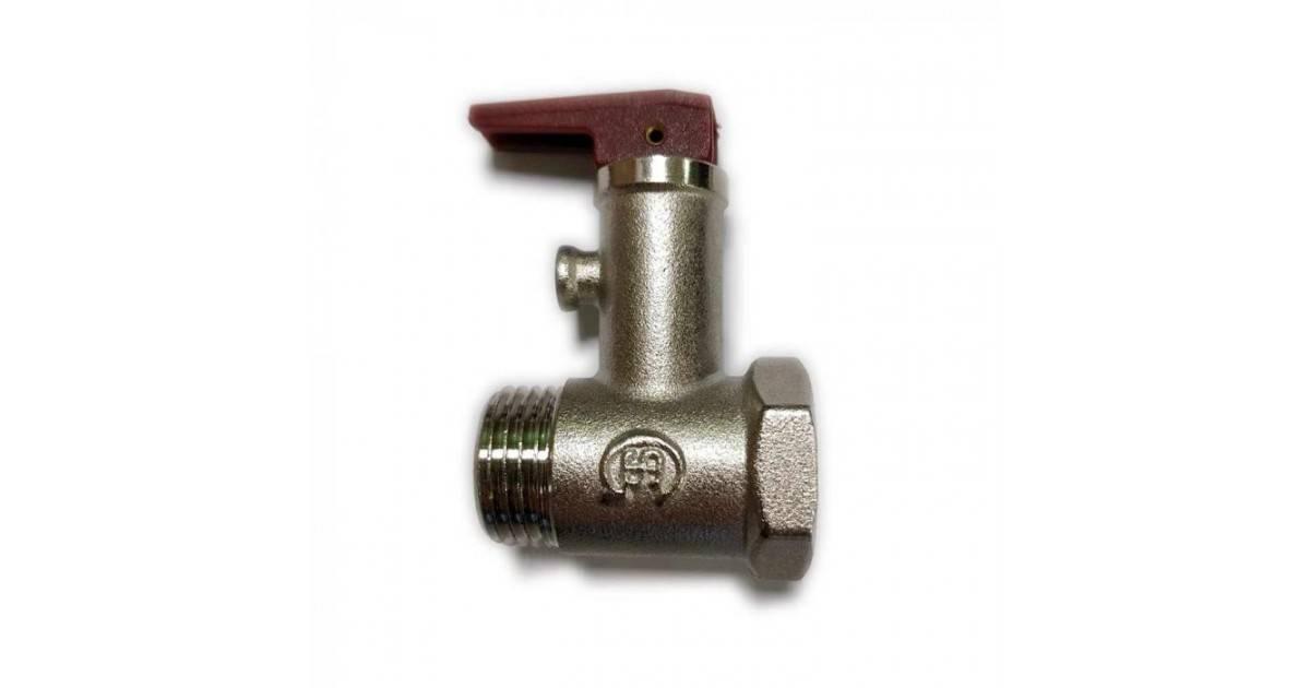 Принцип работы предохранительного клапана для водонагревателя