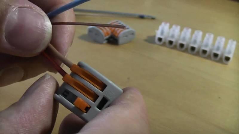 Стоит ли применять для соединения проводов клеммники wago?