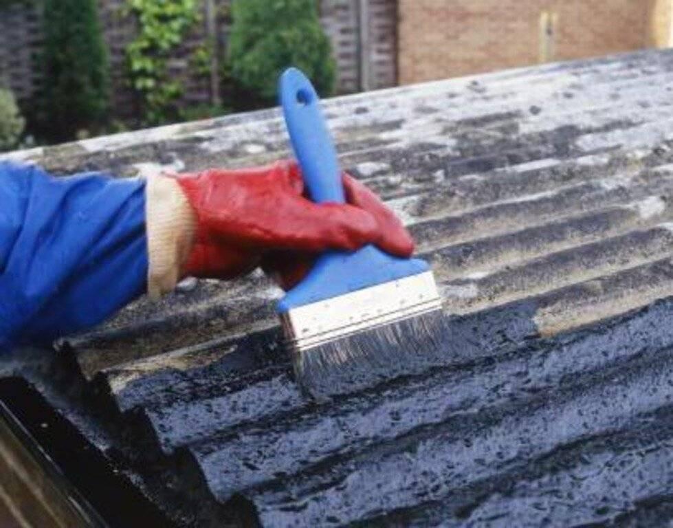 Чем заделать дырку в шифере на крыше изнутри - строим сами