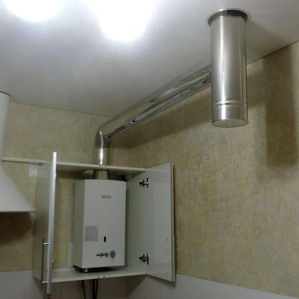 Замерзает газовая колонка через дымоход что делать? - отопление и водоснабжение - нюансы, которые надо знать