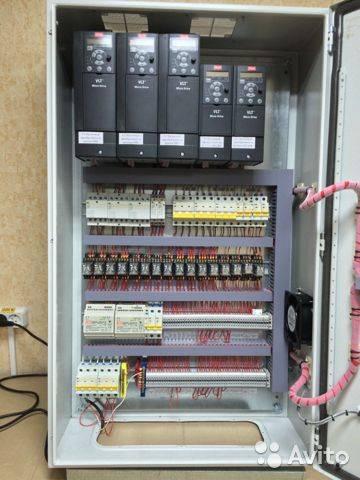 Шкаф управления приточной и вытяжной вентиляцией
