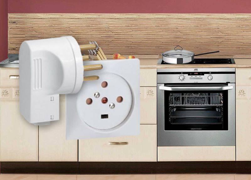 Какая розетка нужна для электрической духовки — подходит ли обычная