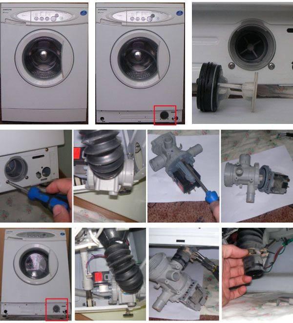 Сливной насос для стиральной машины: описание и применение