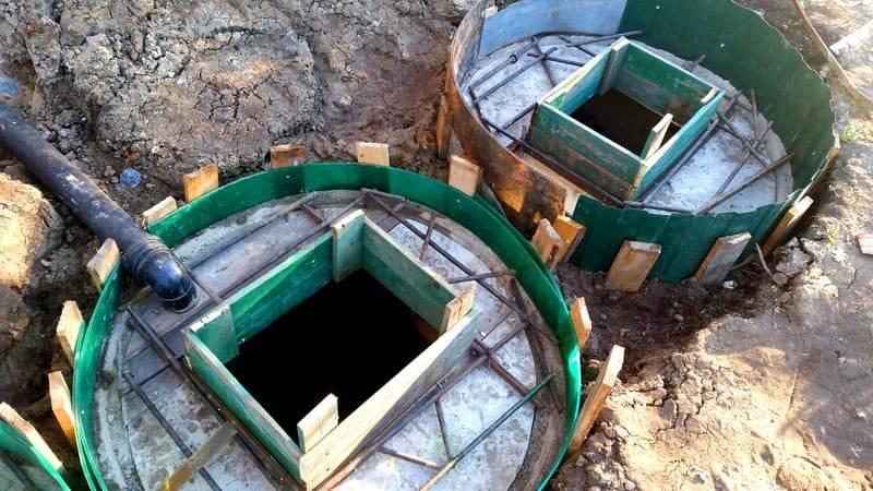 Сливная яма из покрышек: самостоятельное строительство