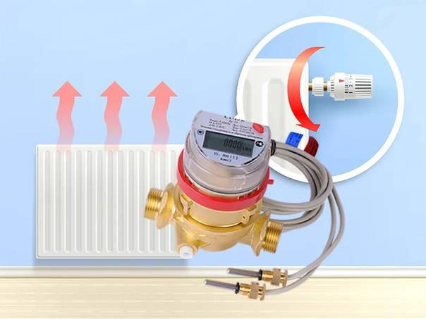 Тепловые счетчики на отопление - виды: индивидуальные, ультразвуковые, аппараты что устанавливаются на батареи в квартире, как работает счетчик, когда проводить проверку, детали на фото +видео