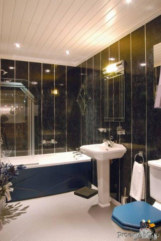 Панели пвх для ванной – лучшее решение отделки стен на 76 фото