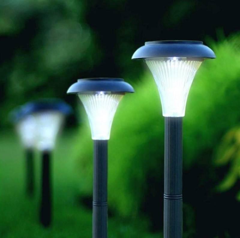 Светильники на солнечных батарейках своими руками