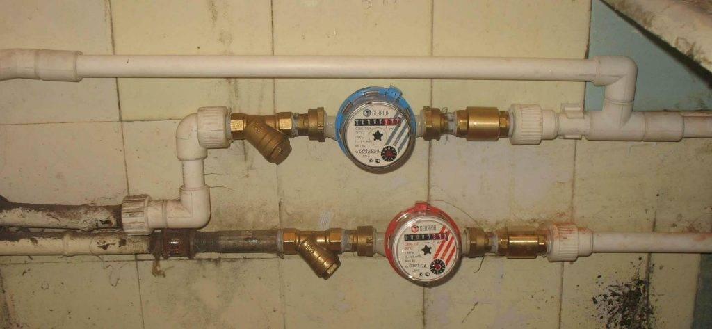 Установка счетчиков воды: самостоятельно, стоимость прибора