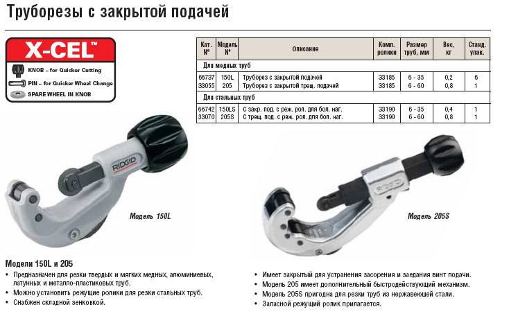 Труборез для полипропиленовых труб: обзор видов инструментов и особенности работы с ними