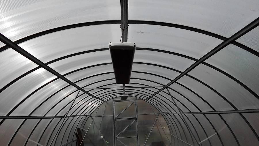 Отопление теплицы инфракрасным обогревателем - система отопления