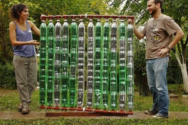 Солнечный коллектор из металлопластиковых труб своими руками – самодельный накопитель тепла   схема летняя и зимняя