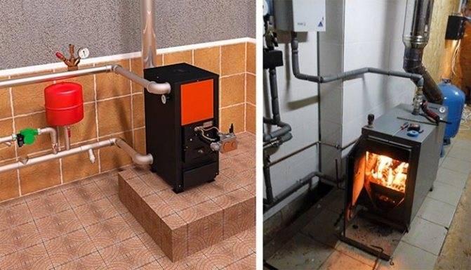 Дровяные котлы длительного горения для частного дома: устройство, подключение