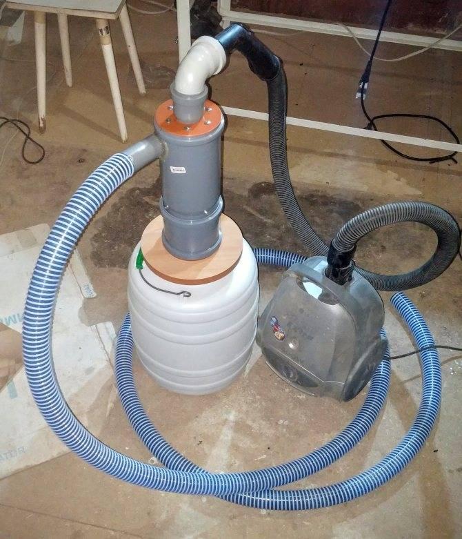 Все о циклонных фильтрах для пылесоса