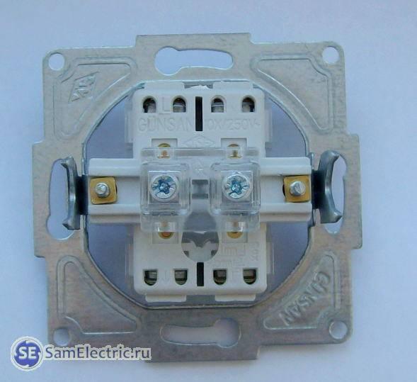 Как сделать проходной выключатель из обычного выключателя