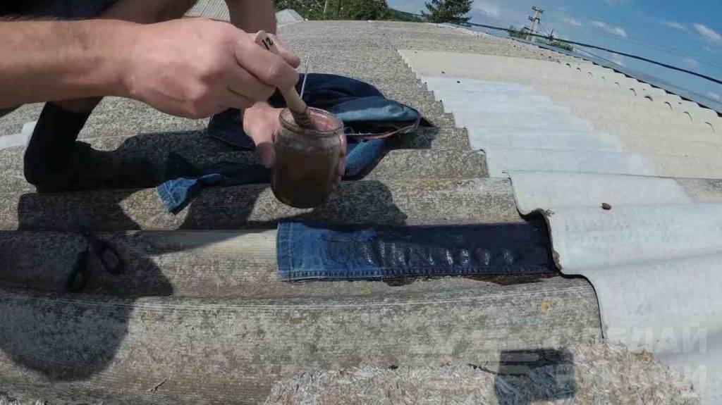Герметик для крыши из шифера - про кровлю и фасадные работы