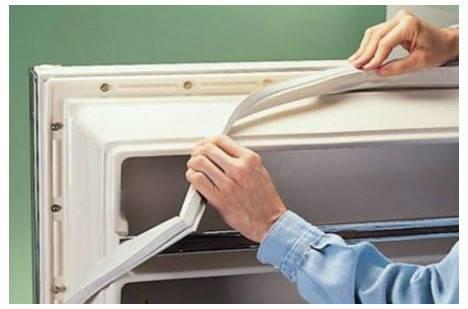 Способы замены уплотнителя в холодильнике