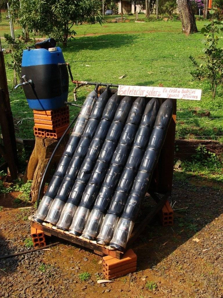 Солнечный коллектор из алюминиевых банок, что это и как его сделать
