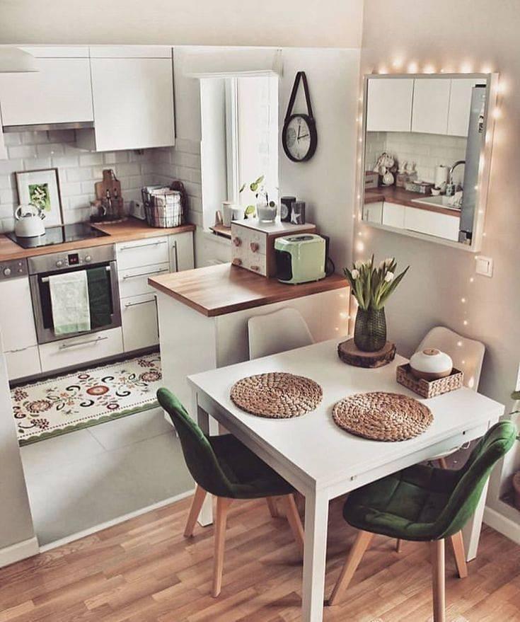 ???? 7 правил практичного оформления маленькой кухни: советы профессионального дизайнера