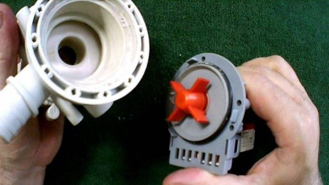Особенности работы насоса стиральной машины