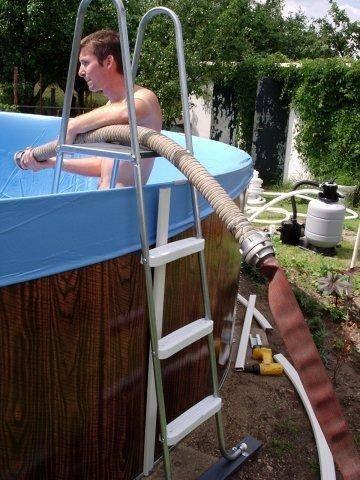 Как установить каркасный бассейн