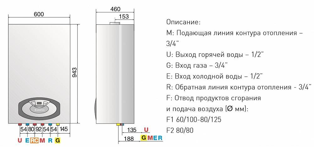 Газовые котлы аристон: отзывы, обзор моделей, характеристики
