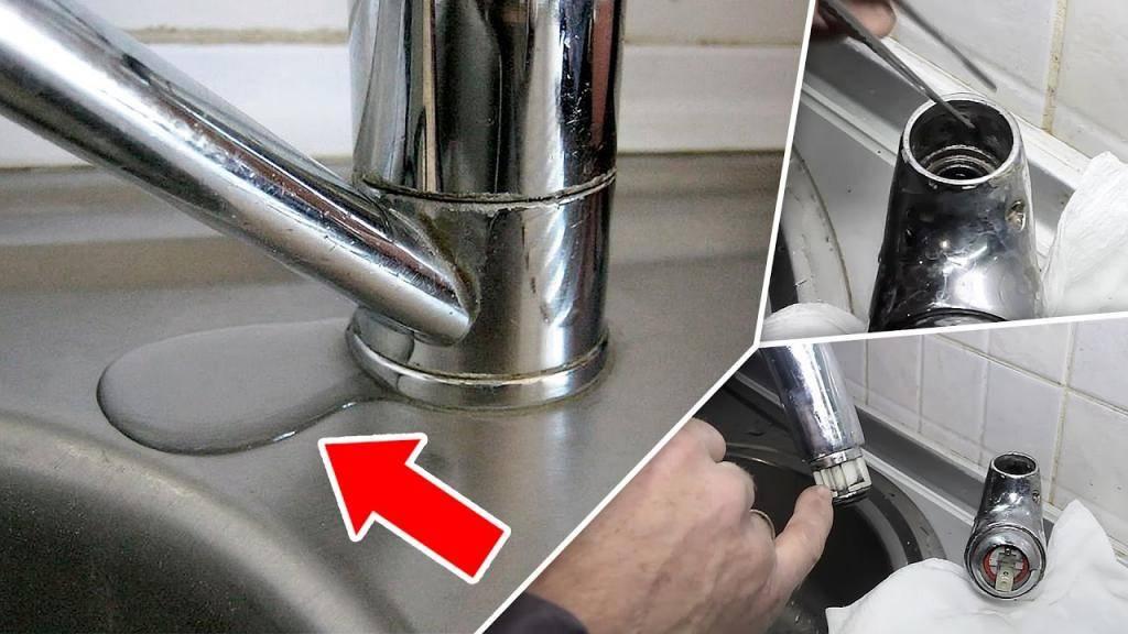 Как починить капающий кран в ванной, если протекает, устранить течь