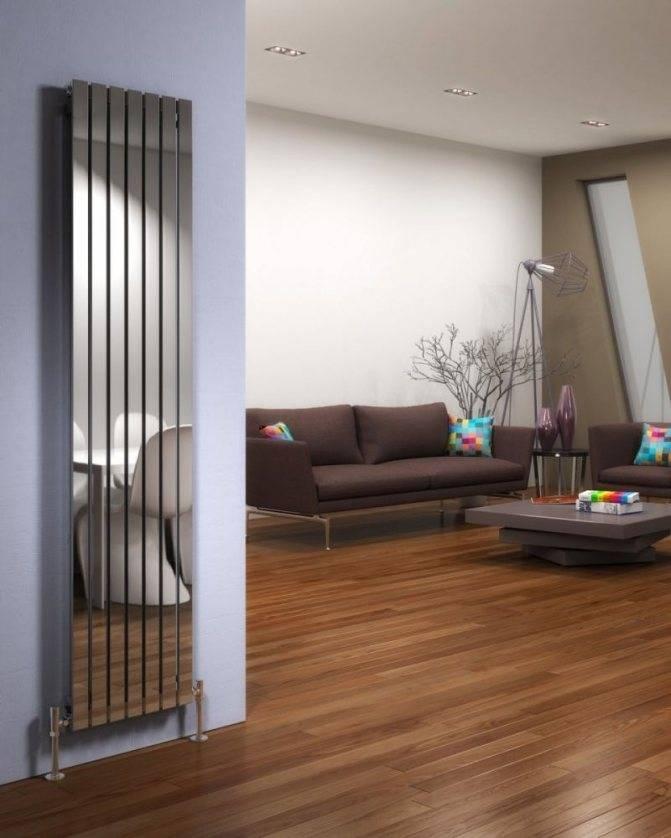 Вертикальные радиаторы отопления для квартиры - основные типы, выбор материала