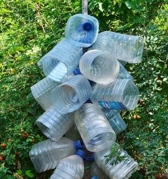 Весь мусор в дело: 3 интересных идеи использования пластиковых бутылок