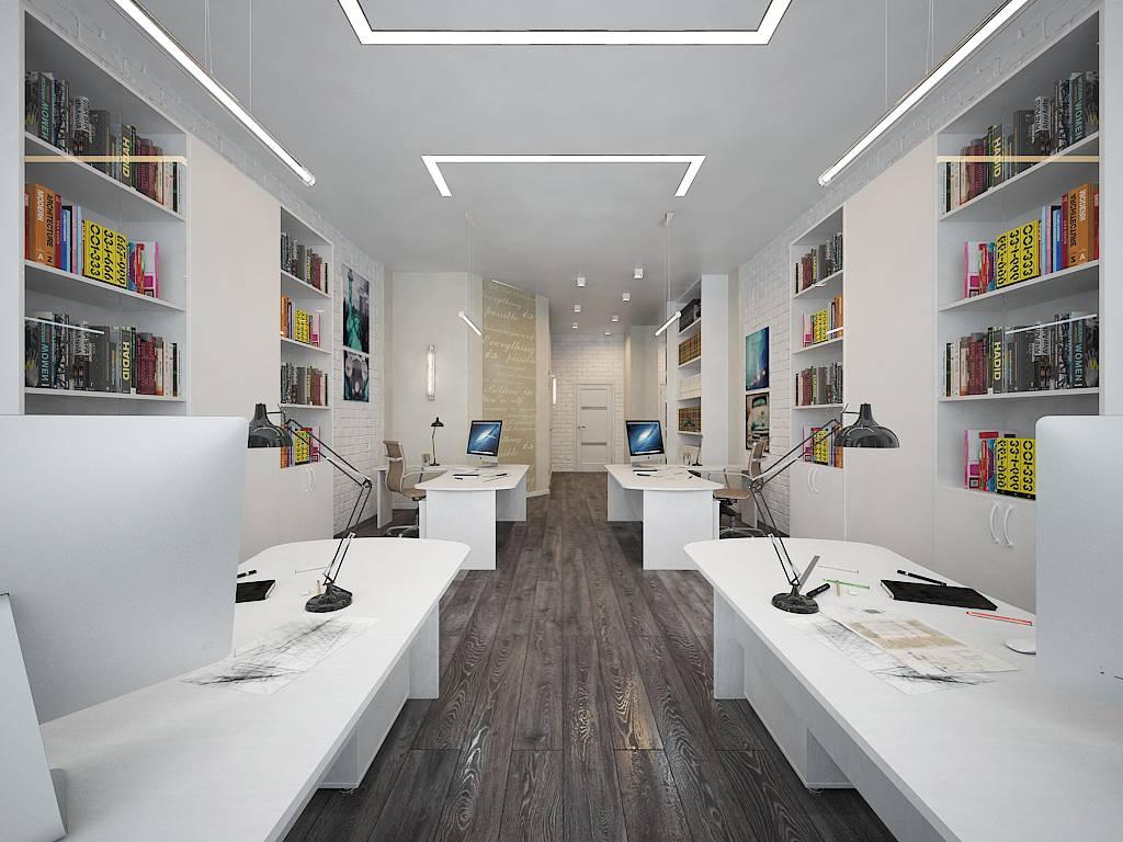 Новый взгляд на офисные перегородки для зонирования пространства в офисе