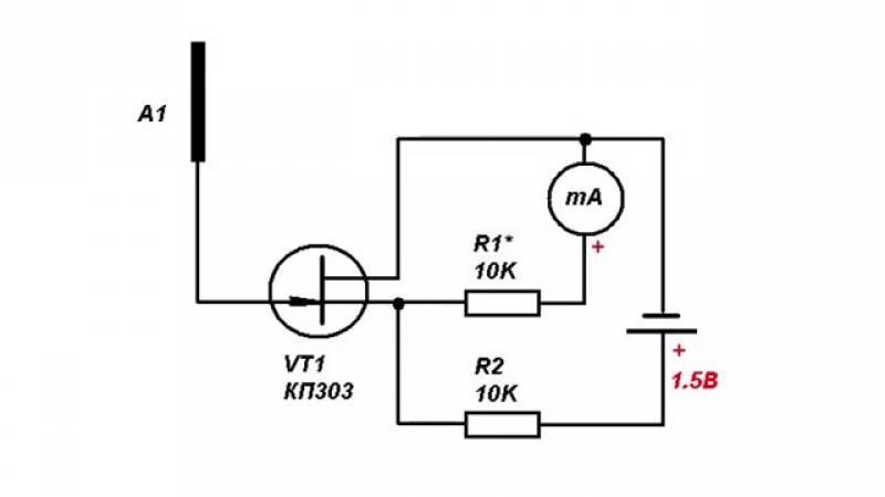 Детектор скрытой проводки своими руками: как сделать прибор для поиска электропроводки в стене, схемы
