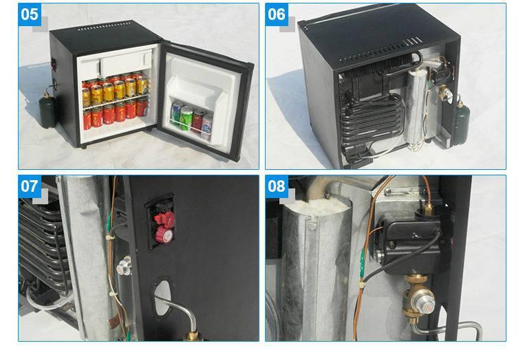 Газовый холодильник: принцип работы и сборка своими руками