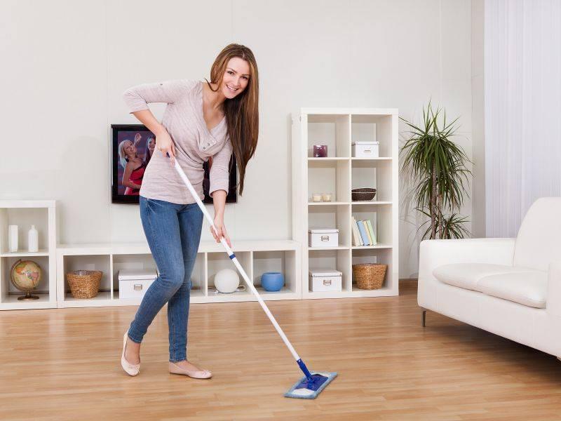 Как поддерживать чистоту в доме, если у вас маленький ребенок