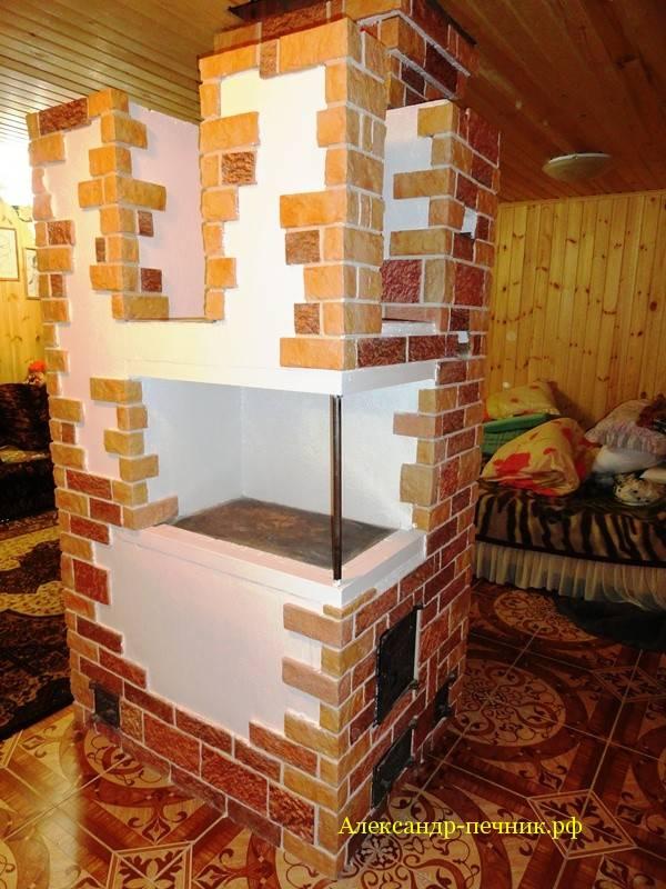 Инструкция по облицовке печей и каминов плиткой – декоративная отделка старой и новой печи