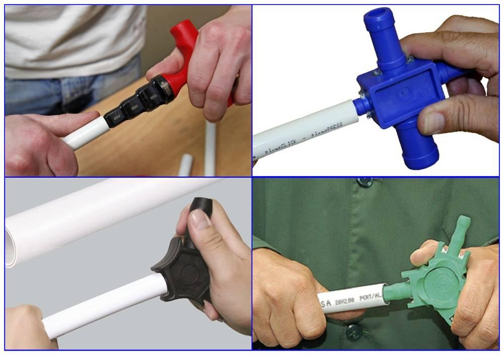 Нюансы соединения металлической трубы с пластиковой — все способы сделать это правильно