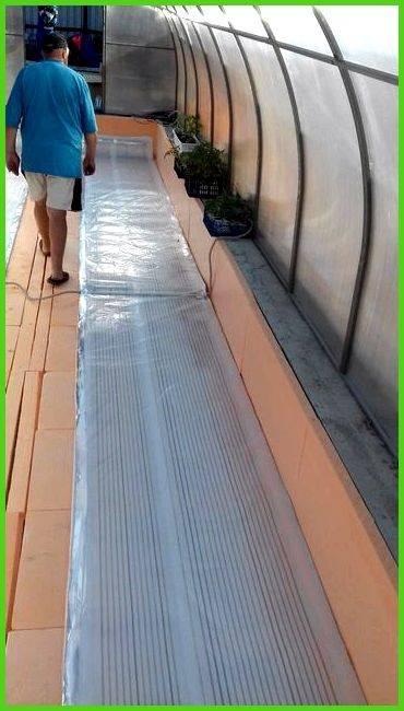 Инфракрасное отопление теплицы из поликарбоната – профессионалы рекомендуют