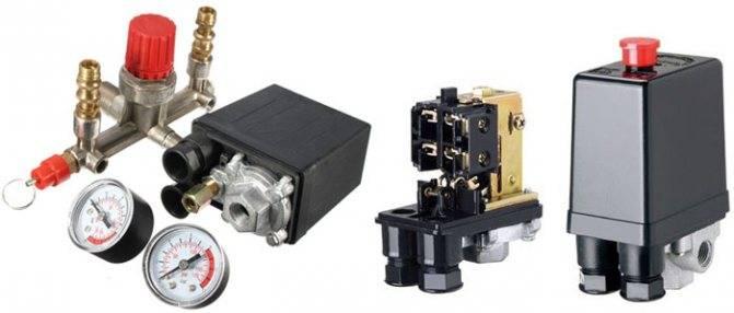 Реле давления для компрессоров виды и описание монтажа