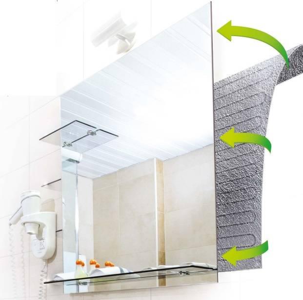 Чем помыть зеркало без разводов: как защитить от влаги и очистить от известкового налета