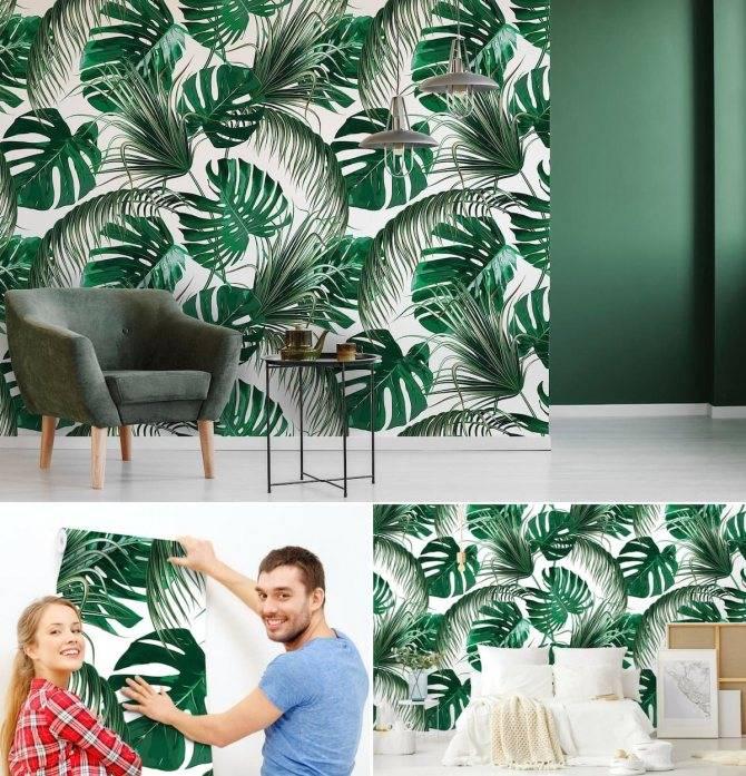 Обои в интерьере: модные цвета и узоры 2021 (+65 фото) | дизайн и интерьер