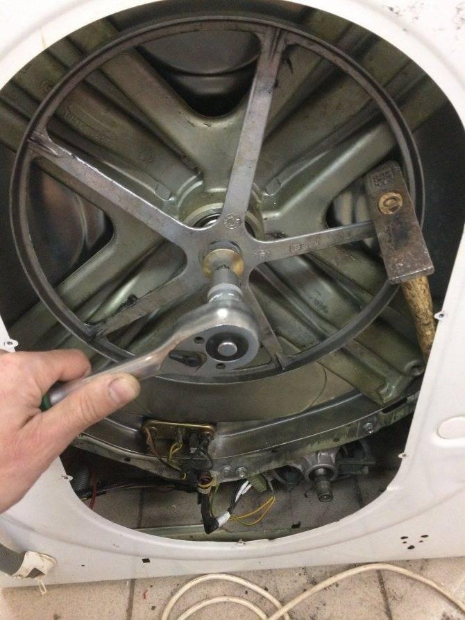 Замена подшипника в стиральной машине: как поменять подшипник самому и не наделать ошибок