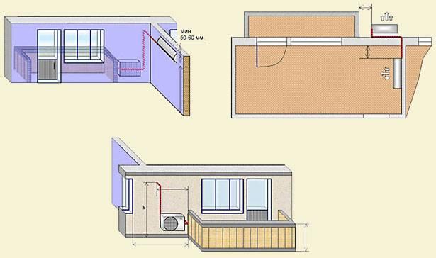 Где установить кондиционер в квартире, в частном доме: правила, нормы, особенности -