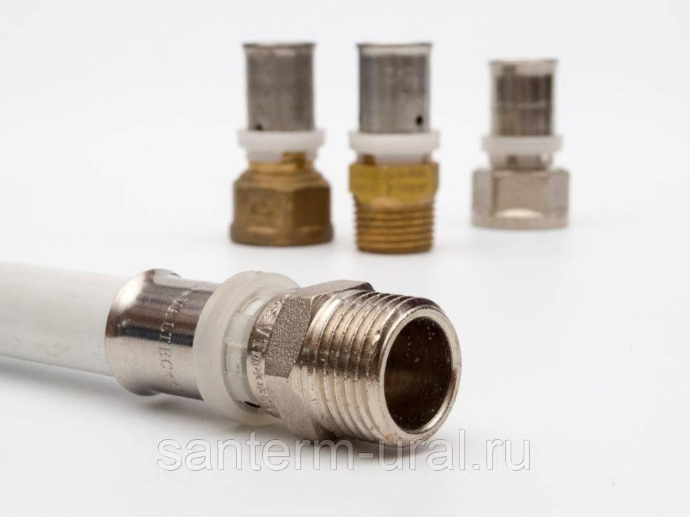 Статья № 10.1 все о пресс фитингах для металлопластиковых труб.