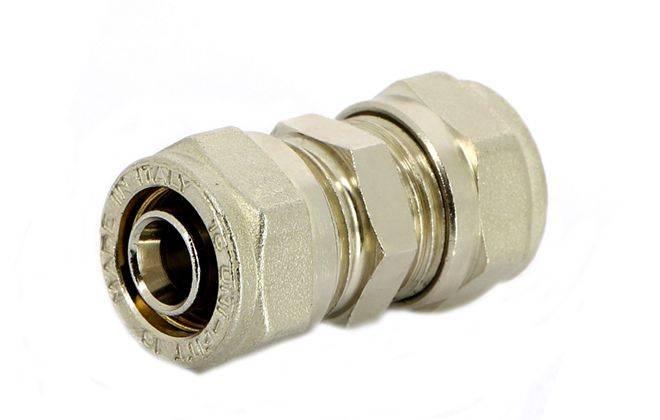 Пресс-фитинги для металлопластиковых, из сшитого полиэтилена, стальных и медных труб отопления