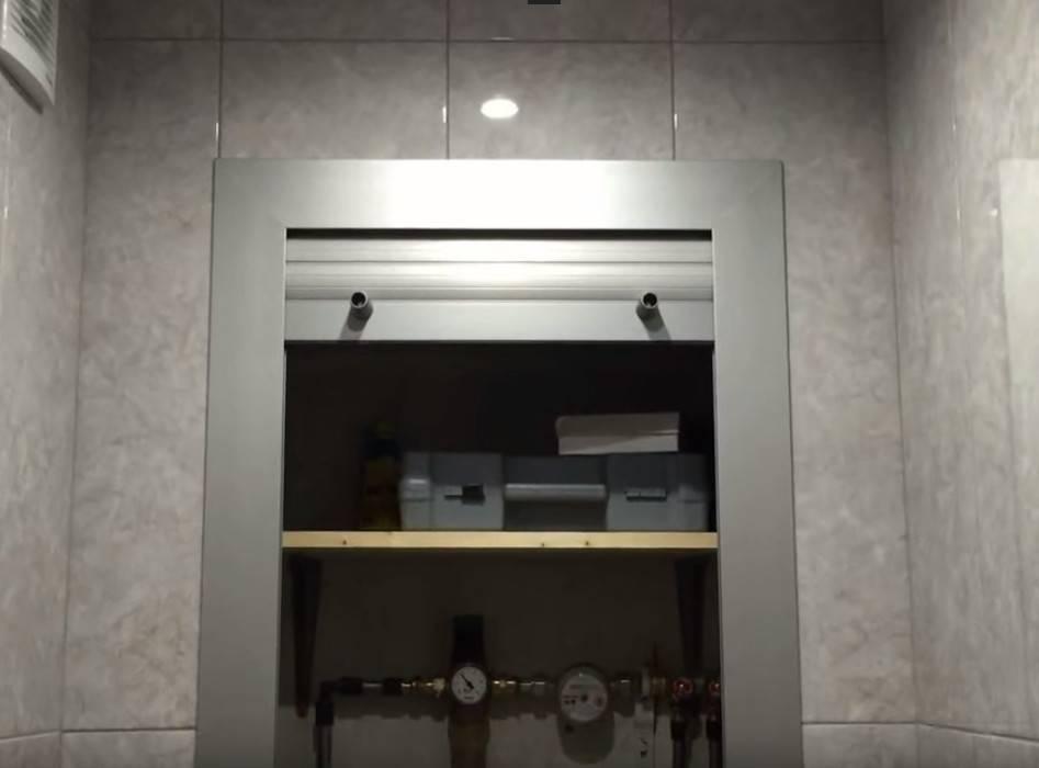Как скрыть трубы в туалете/ванной комнате своими руками: пошаговая инструкция