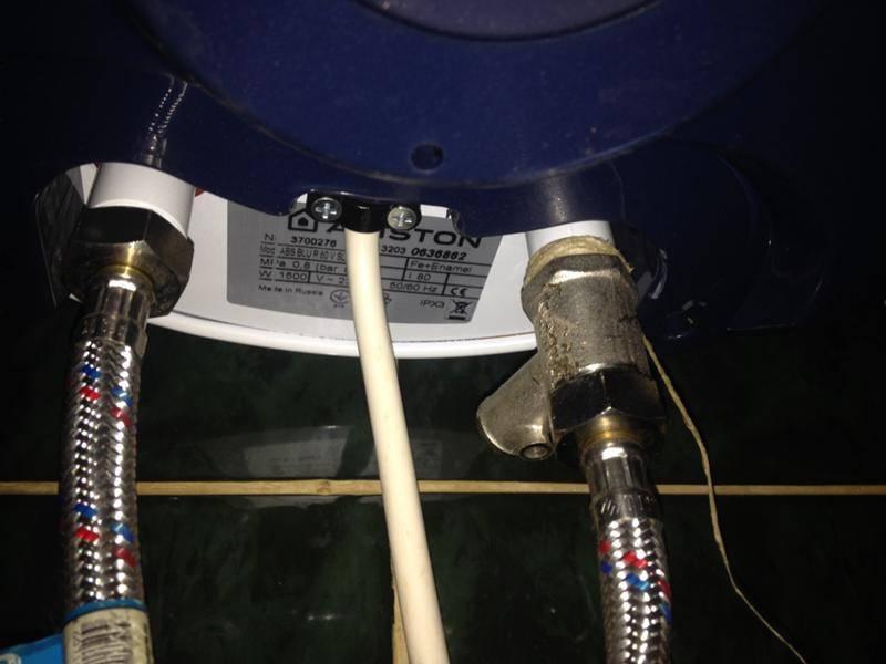 Как слить воду с бойлера - инструкция