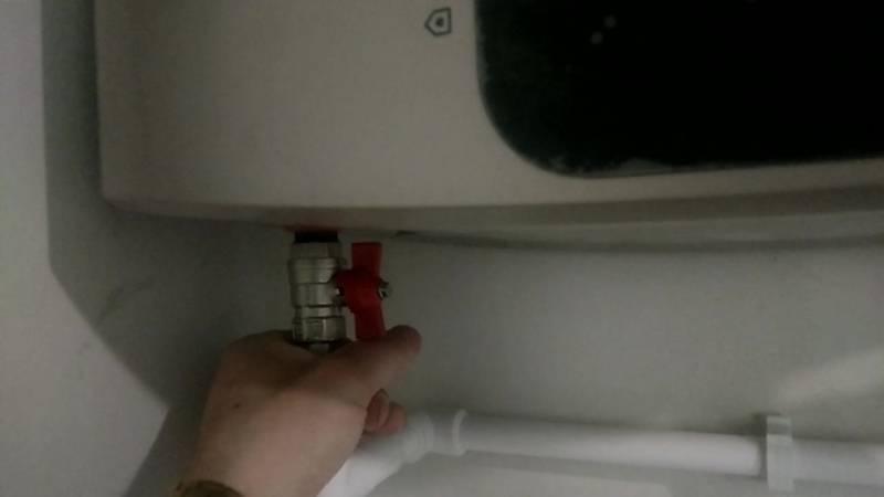Как правильно слить воду из водонагревателя - алгоритм работ