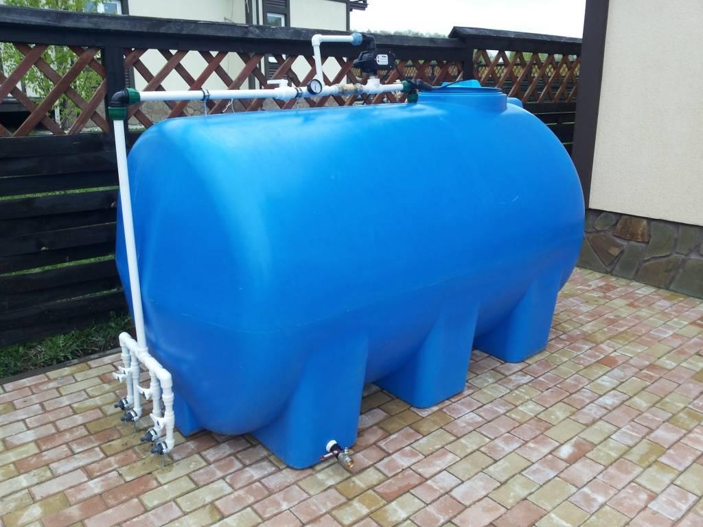 Емкости пластиковые большого объема: пластиковые накопительные емкости для канализации и для сточных вод